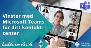 eGuide ROI Teams i kontaktcentrett